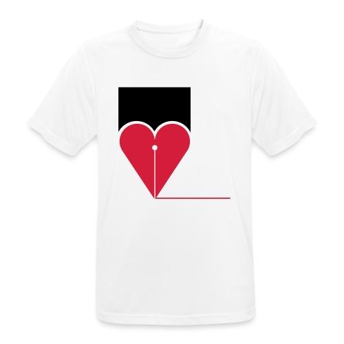 CUORE - Maglietta da uomo traspirante