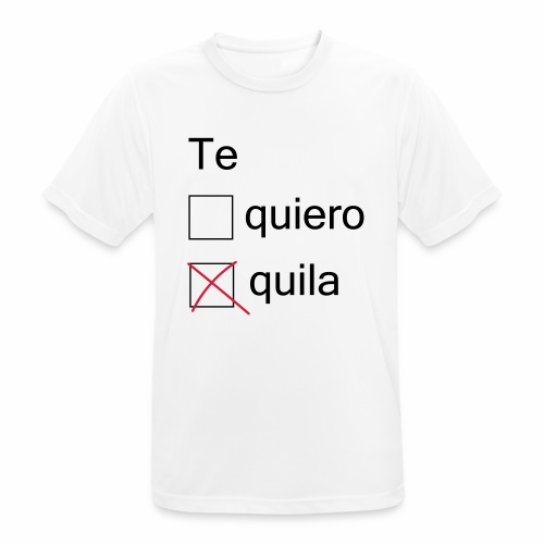 tequila - T-shirt respirant Homme