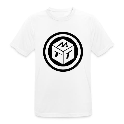 mb logo klein - Männer T-Shirt atmungsaktiv