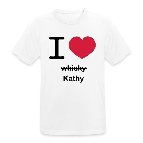 ilovekathy - Mannen T-shirt ademend actief