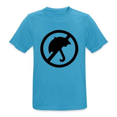 rainmakerlogo - miesten tekninen t-paita