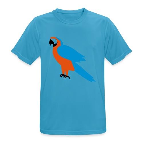 Parrot - Maglietta da uomo traspirante