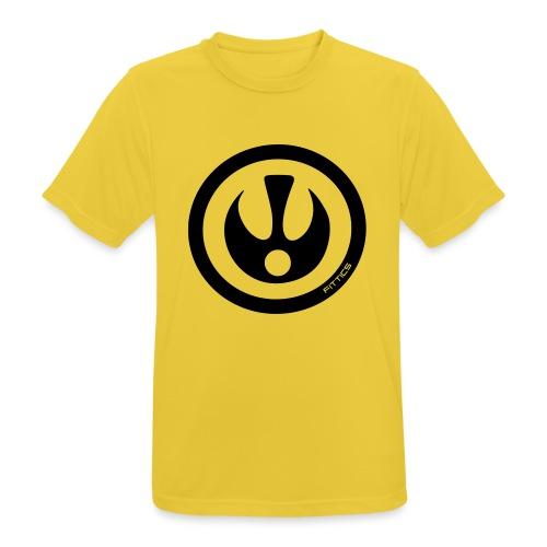 FITTICS SHIELD Black - Men's Breathable T-Shirt