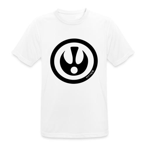 FITTICS DARK BLUE SHIELD - Men's Breathable T-Shirt