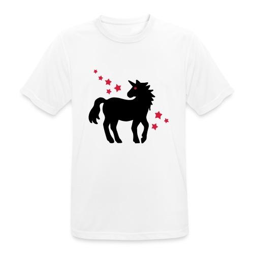 Einhorn - Männer T-Shirt atmungsaktiv