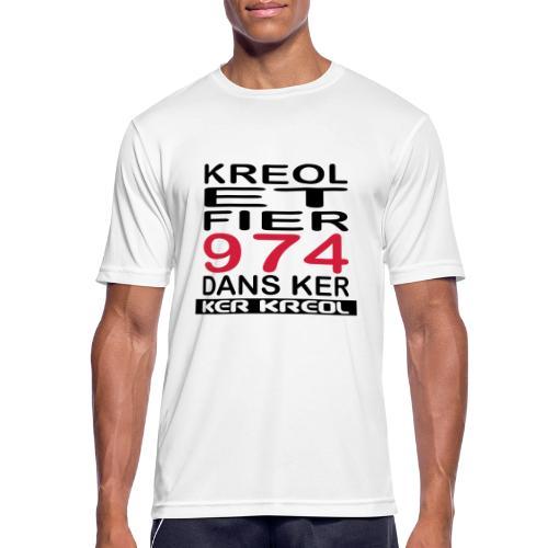 Kreol et Fier dans Ker - T-shirt respirant Homme