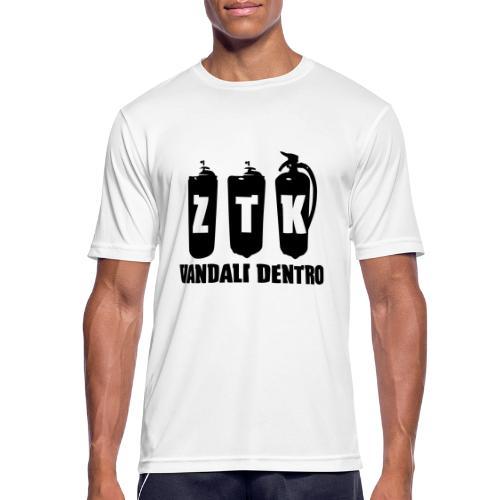 ZTK Vandali Dentro Morphing 1 - Men's Breathable T-Shirt