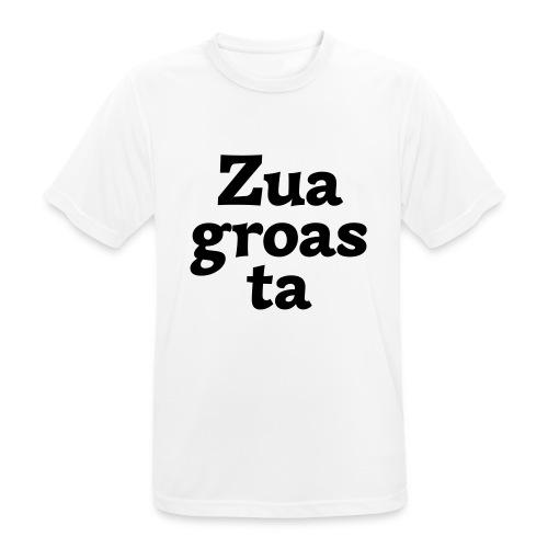 Zuagroasta - Männer T-Shirt atmungsaktiv