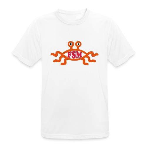 Fliegendes Spaghettimonster - Männer T-Shirt atmungsaktiv
