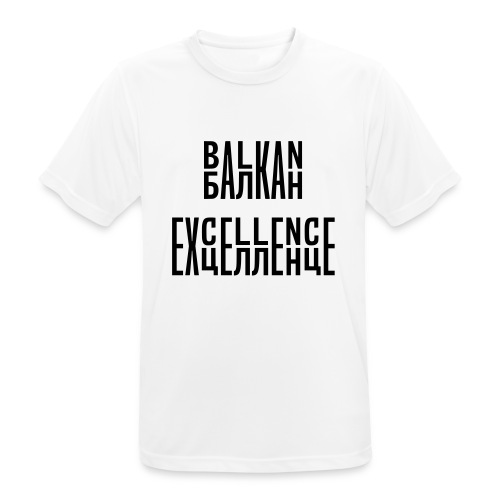 Balkan Excellence vert. - Men's Breathable T-Shirt