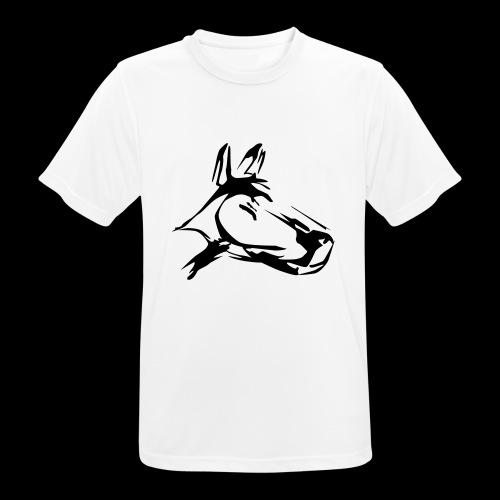 der hund 10 x 10 - Männer T-Shirt atmungsaktiv