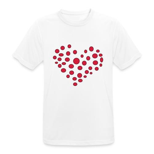 Polka - Herre T-shirt svedtransporterende