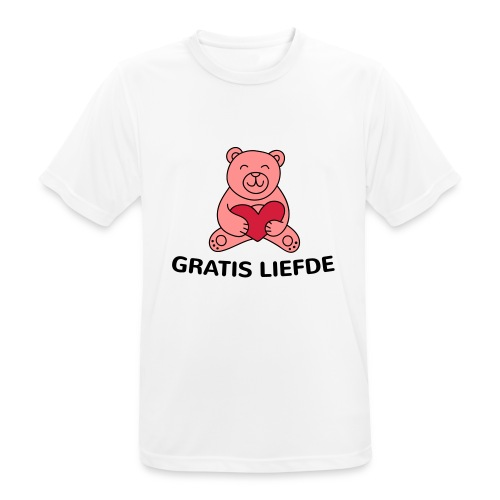 Grappige Rompertjes: Gratis liefde - mannen T-shirt ademend