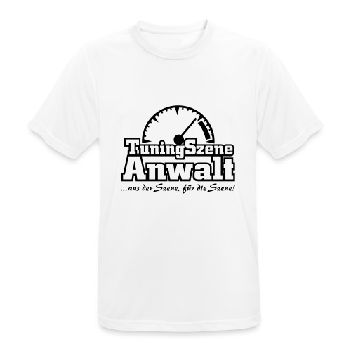 TuningSzeneAnwalt - Männer T-Shirt atmungsaktiv