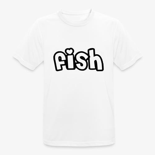Einfaches Design - Männer T-Shirt atmungsaktiv