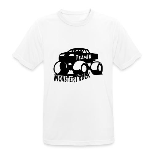 logo mtteam16 noir - T-shirt respirant Homme