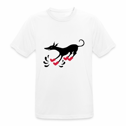Latakko Loiskis - miesten tekninen t-paita