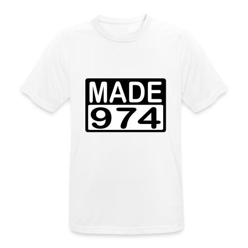 Made 974 - v2 - T-shirt respirant Homme