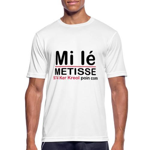 Mi lé METISSE - T-shirt respirant Homme