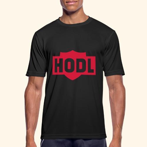 HODL TO THE MOON - miesten tekninen t-paita