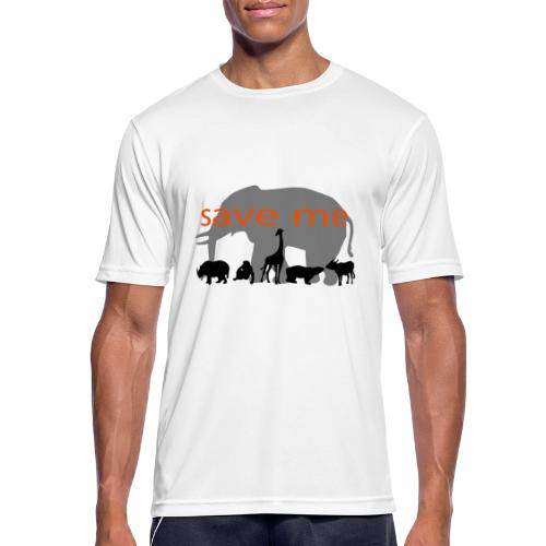 Animaux - T-shirt respirant Homme