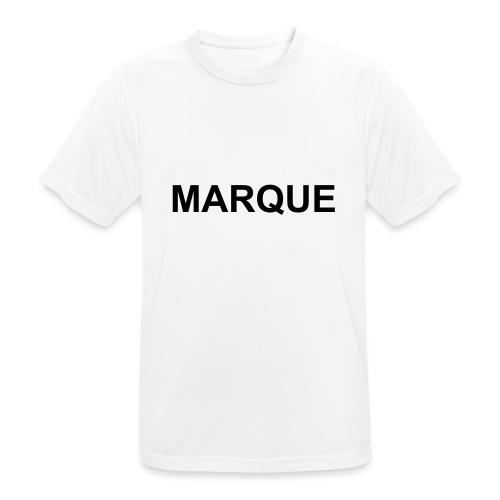 MARQUE - T-shirt respirant Homme