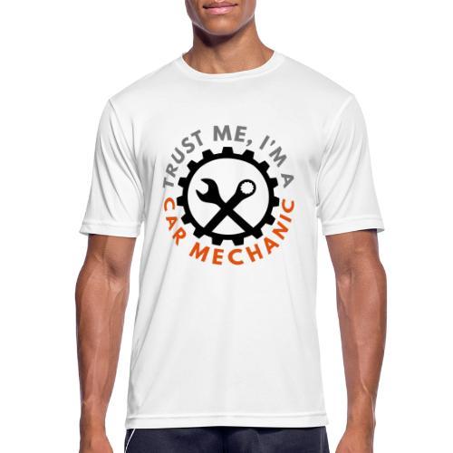 Trust me, I'm a car mechanic - customizable colors - miesten tekninen t-paita