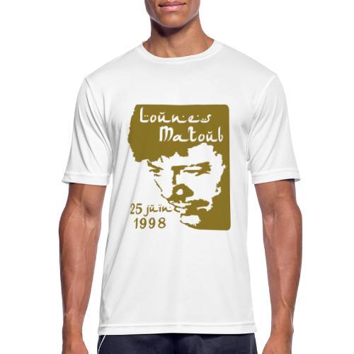 Motif hommage à Lounes Matoub - T-shirt respirant Homme
