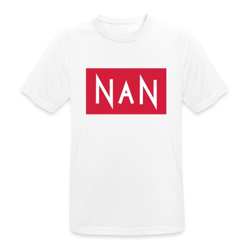 NaN   Not a Number - Mannen T-shirt ademend