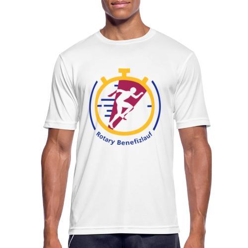 Rotary Benefizlauf Merchandise - Männer T-Shirt atmungsaktiv