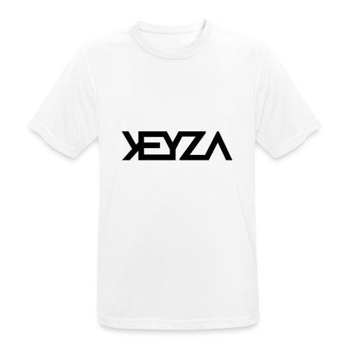 KEYZA LOGO - Männer T-Shirt atmungsaktiv