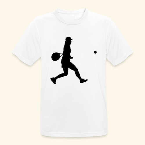 tennis woman 2 - T-shirt respirant Homme
