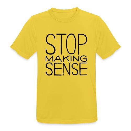 Stop Making Sense - Men's Breathable T-Shirt