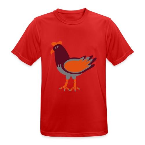 Cock.svg - Maglietta da uomo traspirante