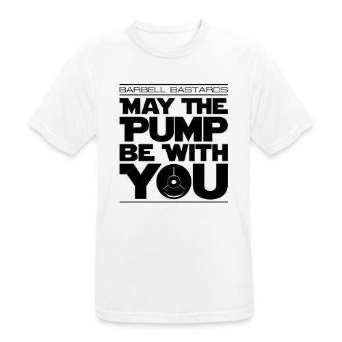 BarbellBastards May the PUMP be with you - Männer T-Shirt atmungsaktiv