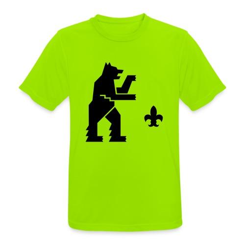 hemelogovektori - miesten tekninen t-paita