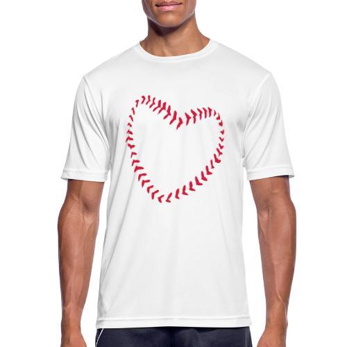 2581172 1029128891 Baseball Heart Of Seams - Men's Breathable T-Shirt
