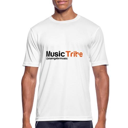music tribe logo - Men's Breathable T-Shirt