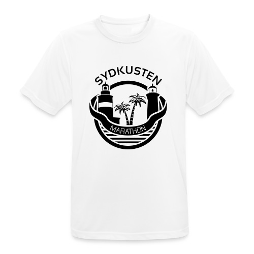 Sydkusten Marathon - Andningsaktiv T-shirt herr
