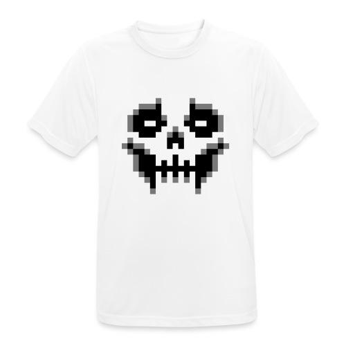 pixel-skull - Men's Breathable T-Shirt