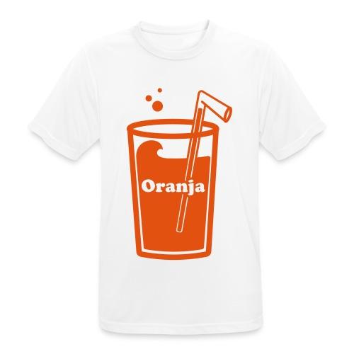 Oranja - mannen T-shirt ademend