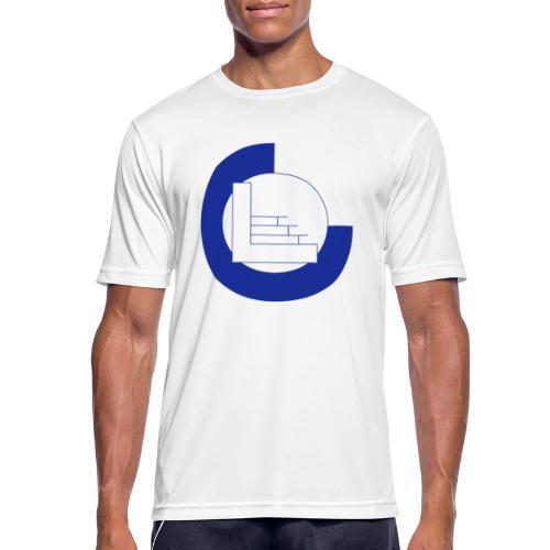 CvL Logo - mannen T-shirt ademend