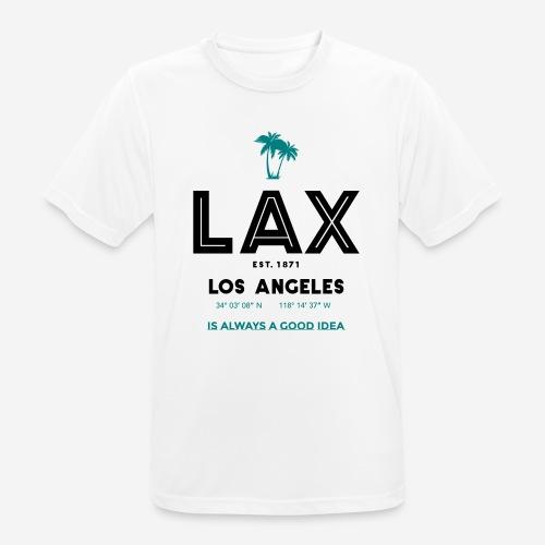 LAX è una buona idea!! - Maglietta da uomo traspirante