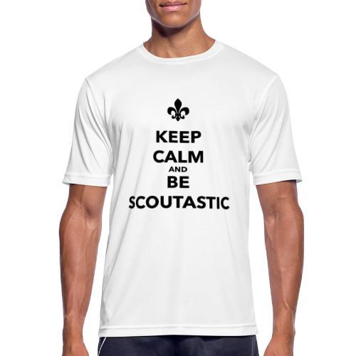 Keep calm and be scoutastic - Farbe frei wählbar - Männer T-Shirt atmungsaktiv