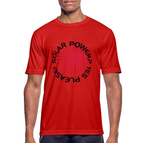 BD Solar Power - Männer T-Shirt atmungsaktiv