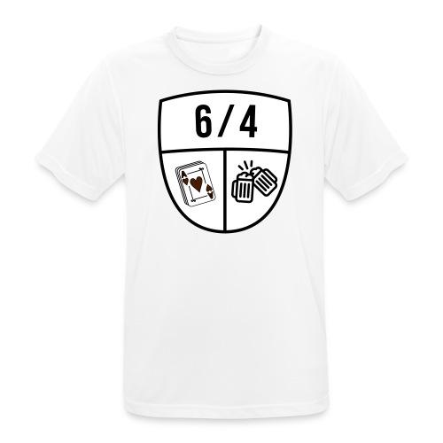 6/4 - mannen T-shirt ademend