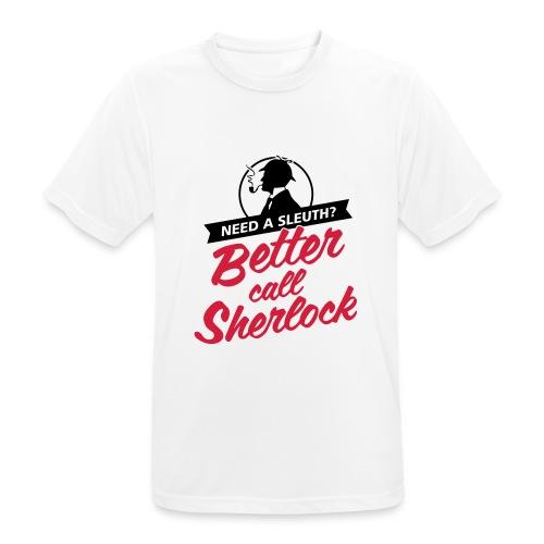 Better Call Sherlock - Männer T-Shirt atmungsaktiv