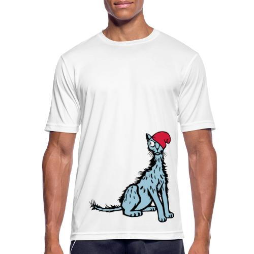 Sleepy Cat - Men's Breathable T-Shirt