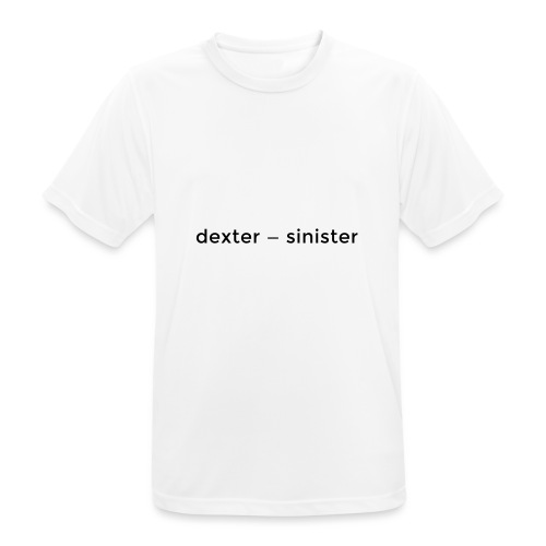 dexter sinister - Andningsaktiv T-shirt herr