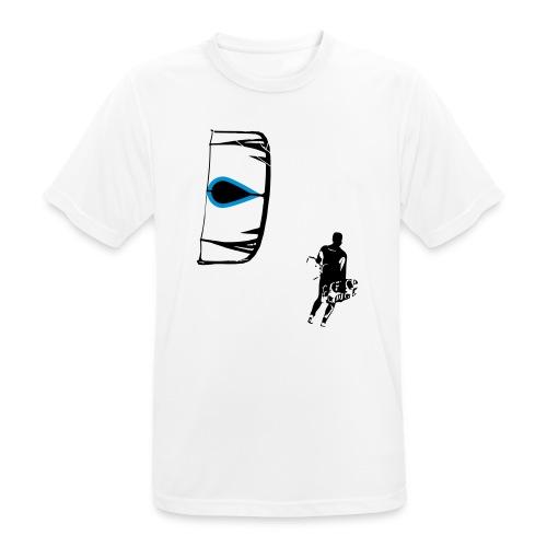 Kiter - Männer T-Shirt atmungsaktiv